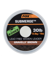 Submerge Lead Free Leader Brown 35lb x 10m