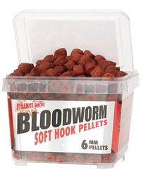 Bloodworm soft hook pellets