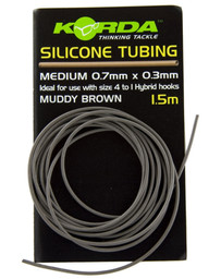 Korda Silicone Tube 0,5 mm - Brown