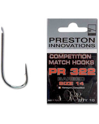 competition match hooks PR 322 size 24