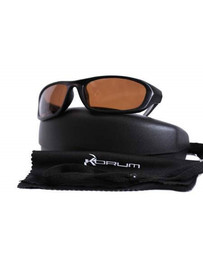 KORUM SUNGLASSES BROWN LENS WITH CASE (1)