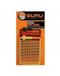Micro Hair Stops - Red, Brown, Yellow