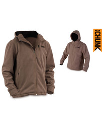 Fox Chunk Wind Shield Hooded Jacket - Khaki - XXL