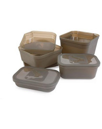 AVID BAIT TUB - WITH LID & DIVIDER