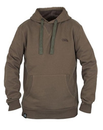 Fox Chunk Ribbed Khaki Hoody - L
