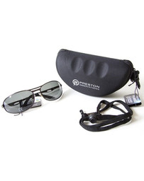 PRESTON POLARISED CLASSIC SUNGLASSES - GREY LENS (1)