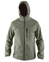 Hooded Green Soft Shell - XXL