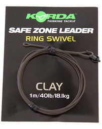 Korda Kamo Leader Ring Swivel Clay