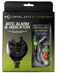KORUM STANDARD BITE ALARM WITH BITE INDICATOR KIT (3)