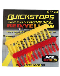 KORUM XL QUICKSTOP - RED/YELLOW (10)