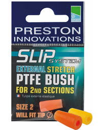 S/S STRETCH PTFE BUSHES No (YELLOW) (10)