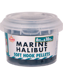 Marine Halibut soft hook pelle