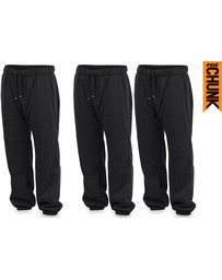 Fox Chunk Heavy Jogger Lined - Black Marl - XXL