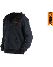 Fox Chunk Heavy Hoody Lined - Black Marl - XXL