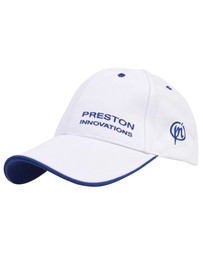 PRESTON BLUE CAP - WITH BLUE & WHITE PIPING