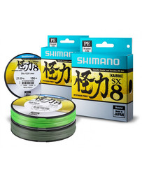 Shimano Kairiki 8 Braid Mantis Green