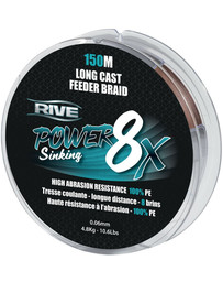 Rive Power Sinking Braid 8x