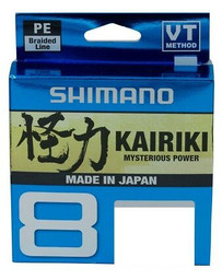 Shimano Kairiki 8 braided Gray