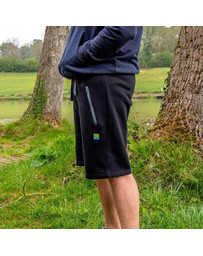 PRESTON BLACK JOGGER SHORTS - XXL