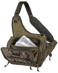 SPRO DOUBLE CAMOU SHOULDER BAG