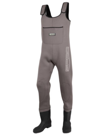 Spro 4mm Neoprene Chest Wader PVC Boots