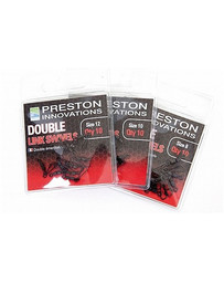 PRESTON DOUBLE LINK SWIVELS - SIZE 8 (10)