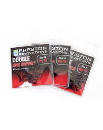 PRESTON DOUBLE LINK SWIVELS - SIZE 10 (10)