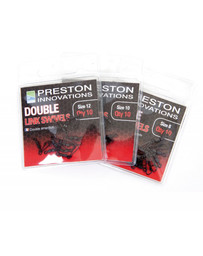 PRESTON DOUBLE SWIVELS - SIZE 12 (10)
